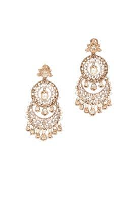 Windsor Tiered Chandelier Earrings by Marchesa Jewelry