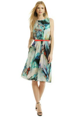 Pastel Warp Dress by Paul Smith