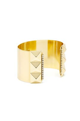 Gold Stud Cuff by AV Max