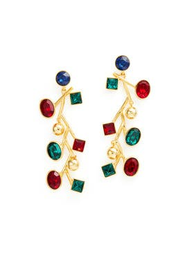 Jeweltone Earrings by Kenneth Jay Lane