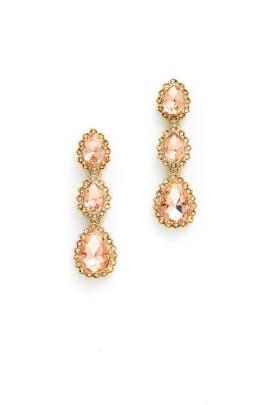 Sunrise Earrings by Marchesa Jewelry