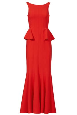 BCBGMAXAZRIA - Flutter and Flirt Gown