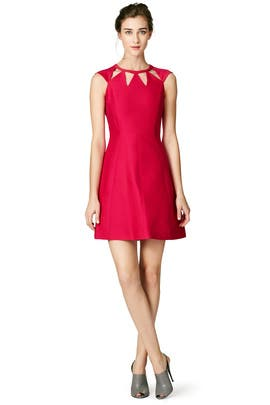 Halston Heritage - Sharp Petal Dress