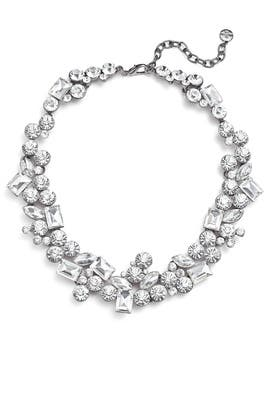 Clear Statement Necklace by RJ Graziano