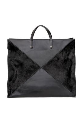 Simple Tote X Haircalf by Clare V.