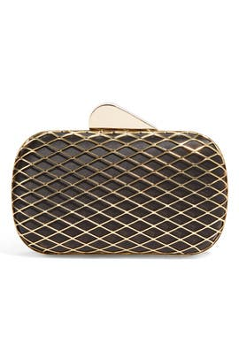 Franchi - Caged Satin Clutch