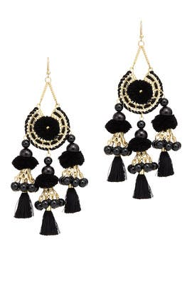 Reena Tassel Earrings by Area Stars