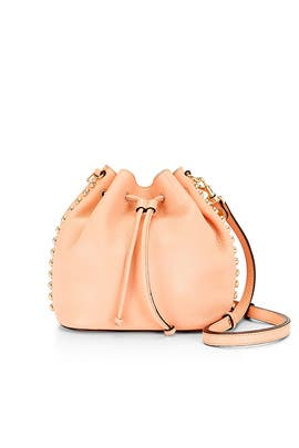 Apricot Unlined Bucket Bag by Rebecca Minkoff Handbags