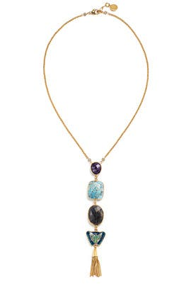 Collier Poeme O Necklace by Gas Bijoux