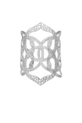 Silver Roni Cuff by Kendra Scott