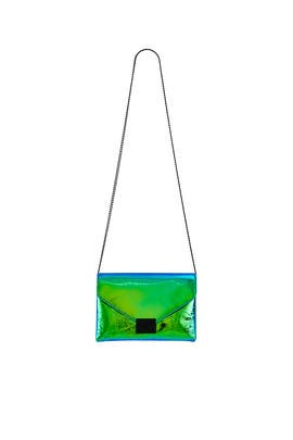 Iridescent Junior Lock Clutch by Loeffler Randall