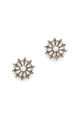 Floral Firework Studs by Slate & Willow Accessories