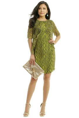 Matthew Williamson - Python Frill Dress