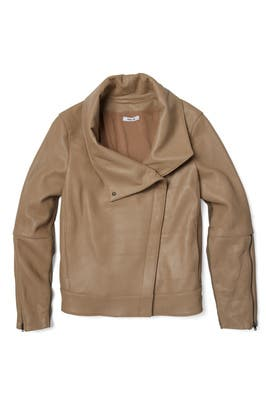 Field Petal High Collar Jacket by Helmut Lang