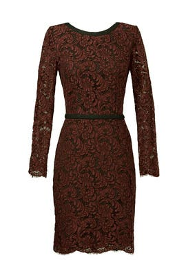 MSGM - Lace It Back Sheath