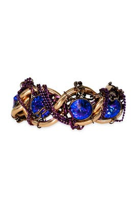 Gemma Redux - Tangled Up in Purple Bracelet