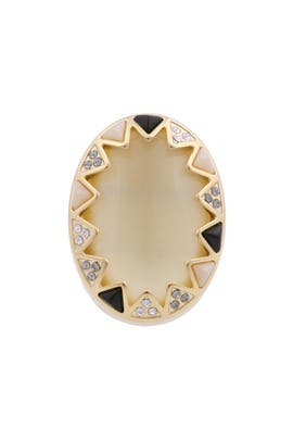 Sundial Cocktail Ring by House of Harlow 1960