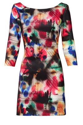 Graffiti Print Taylor Shift by Milly