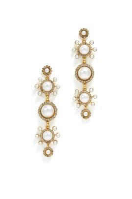 Gretchen Pearl Earrings by Elizabeth Cole