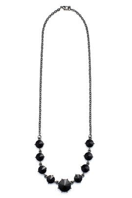 Black Stone Necklace by Slate & Willow Accessories