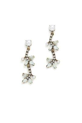 Vintage Drop Earrings by Slate & Willow Accessories