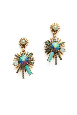 Seafom Issey Earrings  by Elizabeth Cole