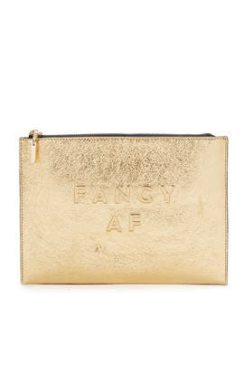 Fancy AF Clutch by Milly Handbags