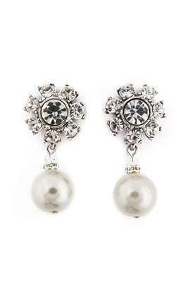 Badgley Mischka Jewelry - Luminosity Pearl Earrings