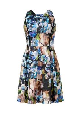 Carmen Marc Valvo - Dive Into Blooms Dress