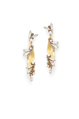 Born Again Earrings by Erickson Beamon