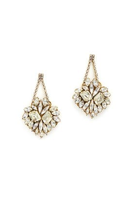 Gold Digger Earring by Erickson Beamon
