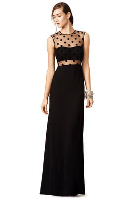 Dipping Dots Gown by Jill Jill Stuart