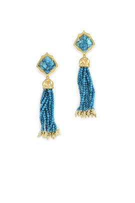 Turquoise Misha Earrings by Kendra Scott