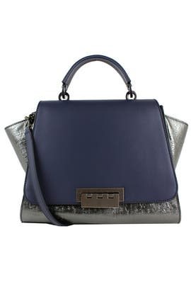 Cement Eartha Iconic Handbag by ZAC Zac Posen Handbags