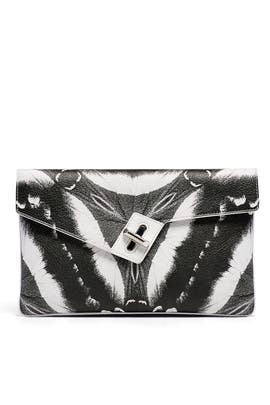 Butterfly Milck Clutch by ela Handbags