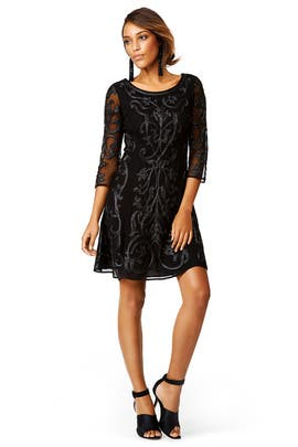 Black Frame Shift by Marchesa Voyage