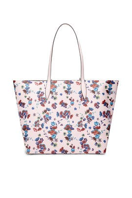 Pink Floral Heather Tote by Rebecca Minkoff Accessories