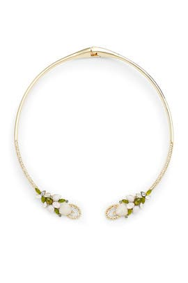 Multi Crystal Collar by Jenny Packham