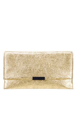 Gold Tab Clutch by Loeffler Randall
