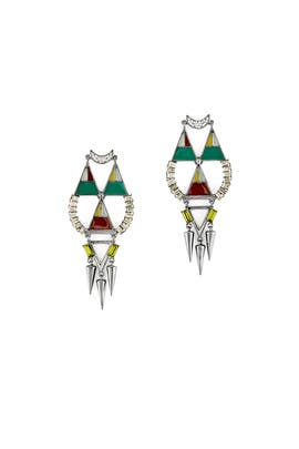Hemingway Earrings by Lizzie Fortunato