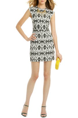 theory - Orinthia Ikat Dress