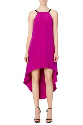 Magenta Molly Dress by nha khanh