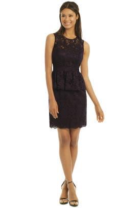Shoshanna - Celeste Peplum Dress