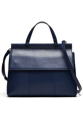 Royal Navy T Satchel by Tory Burch Accessories