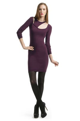 Versus by Versace - Cranberry Cut Out Sheath
