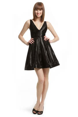 Z Spoke Zac Posen - Black Cat Dress