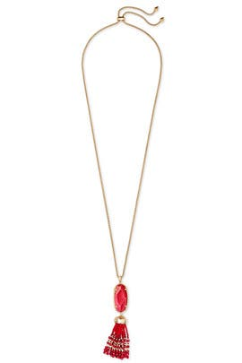 Red Eva Necklace by Kendra Scott