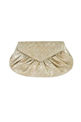 Diana Snake Clutch by Lauren Merkin