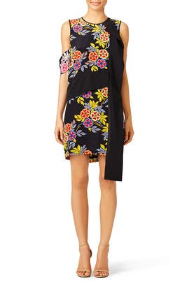 Francoise Floral Shift by MSGM