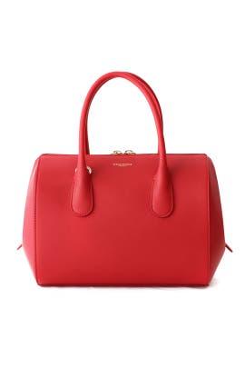 Small Rouge Youkali Handbag by Nina Ricci Accessories
